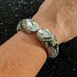 Baublebar rhinestone statement bracelet